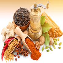 Dried Vegetables and Spices